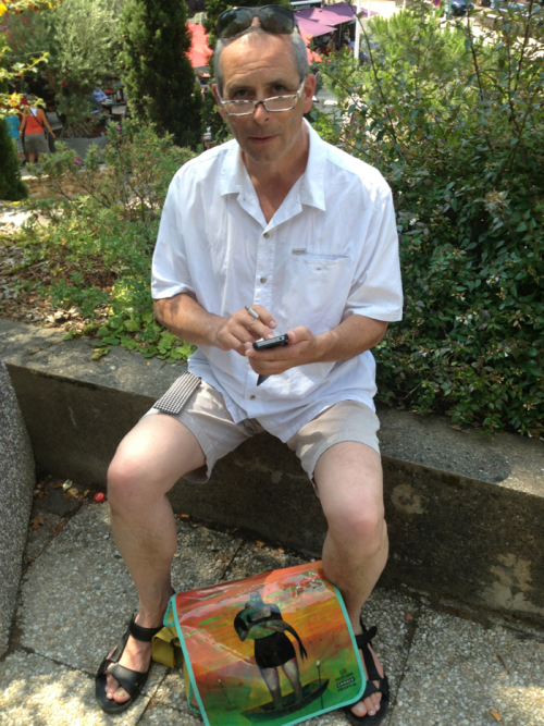 Dominique Panchèvre, twitteur bucolique à La Baule