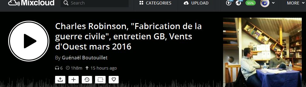 robinson podcast